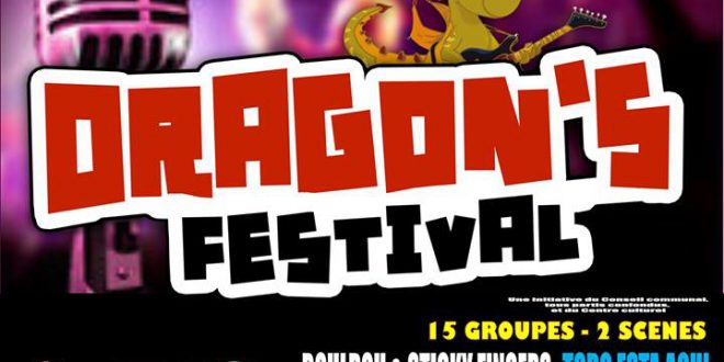 A voir dragonis festival le 26 août