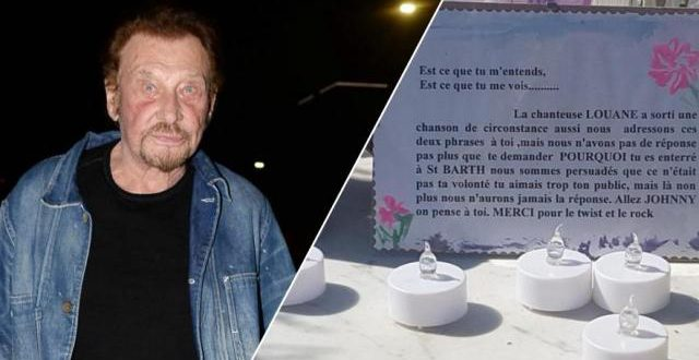 Polémique sur la tombe de Johnny Hallyday: une plaque remettant son enterrement à Saint-Barthélemy en question se volatilise mystérieusement