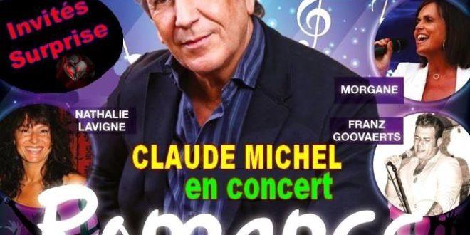 CONCERT CLAUDE MICHEL LE 12 MAI