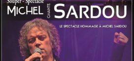 Souper spectacle Michel chante Sardou le 17 novembre