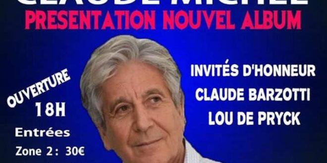 PRÉSENTATION DU NOUVEL ALBUM DE CLAUDE MICHEL