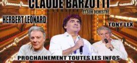 CONCERT CLAUDE BARZOTTI LE 4 OCTOBRE  AU FORUM