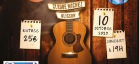 Claude Michel en concert le 10 octobre